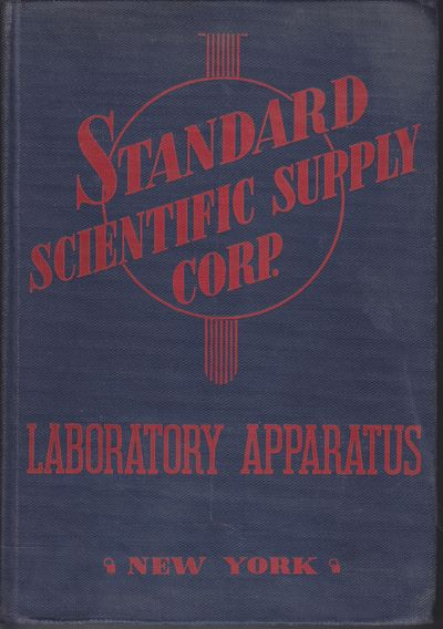 New York: Standard Scientific Supply Corporation. 1944. Hardcover. Some soiling and spotting, but no...