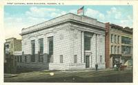 First National Bank Building, Hudson, New York 1910s unused Postcard by - - from postcards&ephemera (SKU: 3829)