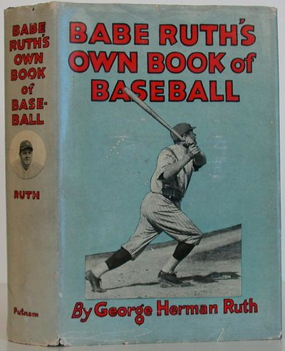 Putnam's Sons, 1928. 1st Edition. Hardcover. Near Fine/Very Good. FIRST EDITION of Babe Ruth's
