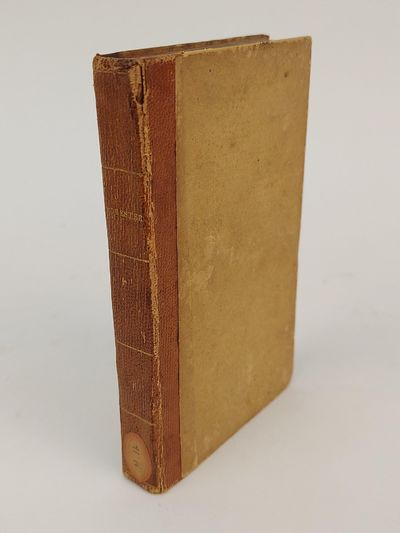 Exeter: Ulman & Jefferds, 1834. Reprint. Hardcover. 12mo., 156, 26 pages; VG-; 1/4 bound with tan le...