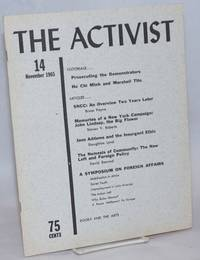 The Activist: a student journal of politics and opinion; vol. 6, no. 1,  whole number 14, November 1965
