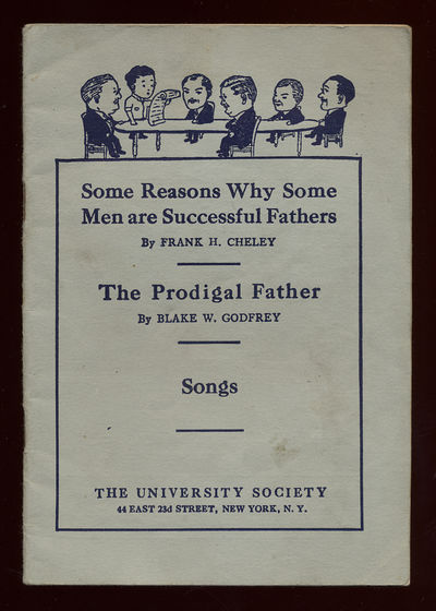 New York: The University Society. Softcover. Near Fine. First edition. Near fine in stapled wrappers...