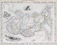 Russia in Asia [Siberia], Tallis, ca.1851 by John Tallis & Rapkin