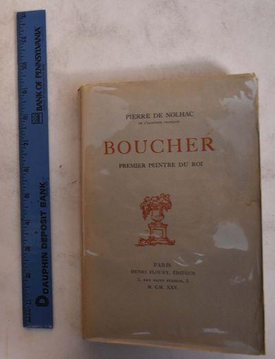 Paris: Henri Floury, Editeur, 1925. Paperback. VG- light soiling and discoloration to wraps and inte...