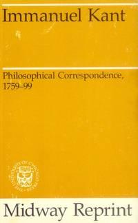 image of Philosophical Correspondence, 1759-99