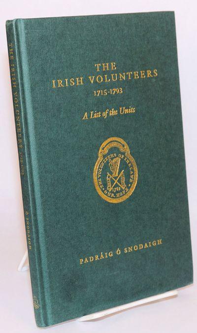 Dublin: Irish Academic Press, 1995. Hardcover. 88p., hardbound in green boards gilt, clean and sound...