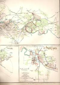 MAP: 4 Section Map, Including the Rappahannock River, Jackson, Mississippi, operations of the...