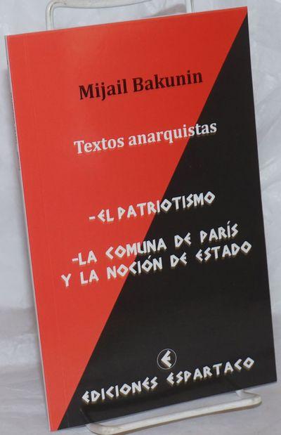 San Antonio, Chile: Ediciones Espartaco, 2014. Paperback. 54p., wraps, 5.25x8.25 inches, very good c...