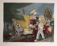 [Les Maîtres de l'estampe française contemporaine :] Robert Lotiron, dix estampes originales présentées par Jean Alazard