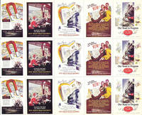 image of Full sheet of 15 poster stamps promoting the New South Wales Railways