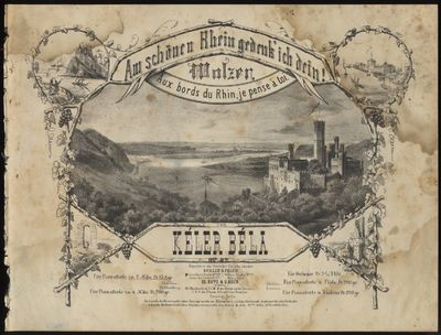 Berlin & Posen: Bote & G. Bock , 1869. Oblong folio. Disbound. (title with large lithographic illust...