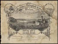 Am schönen Rhein gedenk' ich dein! Walzer - Aux bords du Rhin, je pense à toi. ... Op. 83. Für Pianoforte zu 2 Hdn. Pr.15 Sgr.