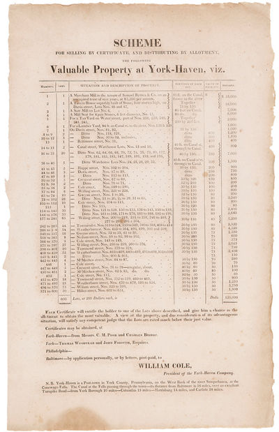 [N.p., but likely either Philadelphia or Baltimore, 1814. Letterpress broadside, approximately 17 3/...