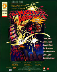 image of The Masters of Animation. Seattle's 1st Annual Animation Festival. Event Poster. July 4-7, 1997.