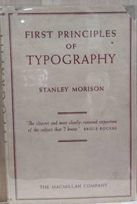 First Principles of Typography