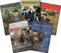 Rush Revere: Rush Revere and the Brave Pilgrims and the First Patriots; Rush Revere and the American ... Banner; Rush Revere and the Presidency