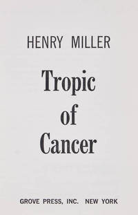 image of Tropic of Cancer.