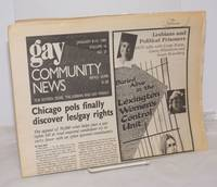 image of GCN: Gay Community News; the weekly for lesbians and gay males; vol. 16, #25, January 8-14, 1989; Chicago pols finally discover les/gay rights also Lesbians_Political Prisoners