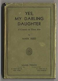 New York: Samuel French, 1937. Hardcover. Fine/Very Good. First edition. Fine in very good or better...