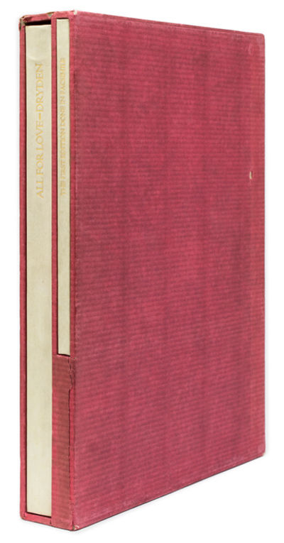 San Francisco: John Henry Nash for William Andrews Clark, Jr., 1929. One of only 250 numbered copies...