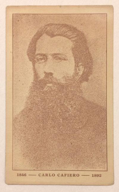 n.p., n.d.. Unused postcard, very good, with portrait of the anarchist. Undated but appears to be pr...