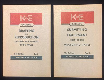 Hoboken NJ: Keuffel & Esser Co, 1949. Soft cover. Fine. An used pair of trade catalogs for K + E, 41...