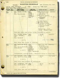 The Raid (Original screenplay for the 1954 film, Van Heflin's working copy)