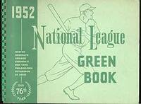 1952 National League Green Book
