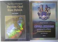 The Story of European Precious Opal from Dubnik WITH a colourful poster covering the genealogy of the Goldschmidts, entrepreneurs involved with precious opal mining in Dubník from 1845 to 1880.