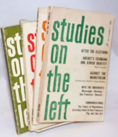 Madison, WI: Studies on the Left, 1965. All four quarterly issues for the year 1965, 136, 114, 142, ...