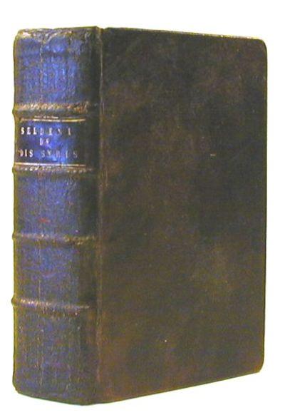 Lipsiae: Laurentii Sigismundi Corneri, 1672. Hardcover. Very good. Bound with: M. Andreae Beyeri, Ad...
