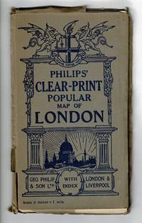 Philips' clear-print popular map of London
