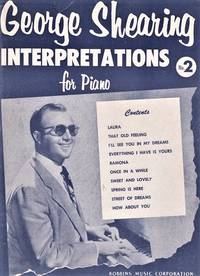 GEORGE SHEARING INTERPRETATIONS FOR PIANO, No. 2.  Edited by John Lane
