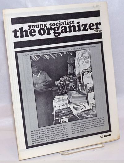 New York: Young Socialist Alliance, 1970. Magazine. p., folded tabloid format, wraps worn, 1/4 inch ...