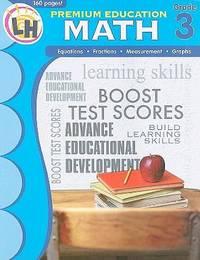 image of Premium Education Workbooks: Math Grade 3