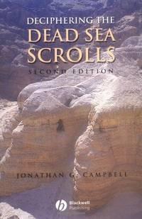 image of Deciphering the Dead Sea Scrolls