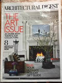 Architectural Digest December 2015 The Art Issue & Architectural Digest Celebrity Living