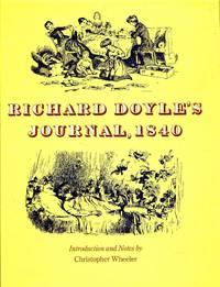 image of Richard Doyle's journal, 1840