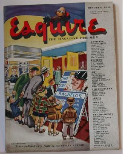 Esquire, Inc, 1945. Soft cover. Fair. Story appears in Esquire, Volume 24, Number 4. Published in Ch...