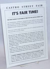 image of It's Fair Time! [handbill]