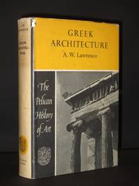 Greek Architecture: (Penguin History of Art Series No. Z11)
