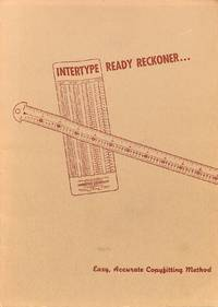 Intertype Ready Reckoner...