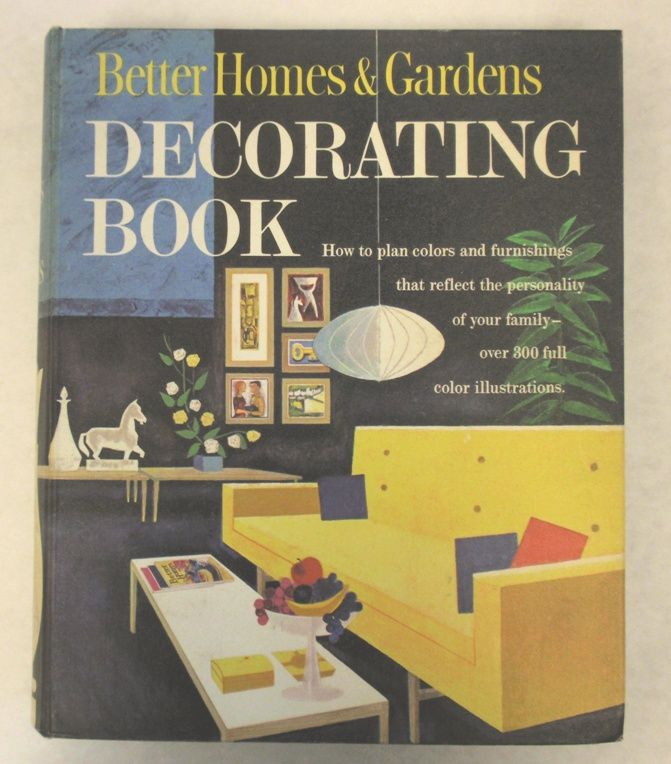 Better Homes And Gardens Decorating Book