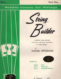 The Belwin String Builder, Viola, Book One