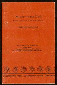 margret atwood murder in the dark This extract, 'the page' comes from the short collection 'murder in the dark' which features other short essays and prose poems 'the page' - margaret atwood 1.
