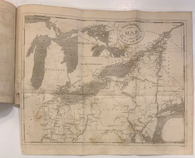 Philadelphia: McCarty & Davis. Small 8vo, unbound. With 14 engraved plates, including 9 maps, 3 batt...