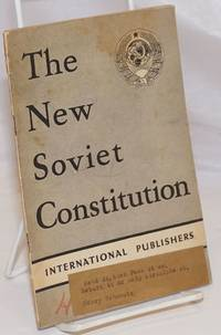 image of The New Soviet Constitution