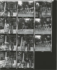 Lt. Robin Crusoe USN (Collection of 108 original contacts sheets with approximately 1100 images from the 1966 film)