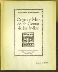 Origen y Modo de Contar de los Indios