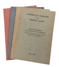 Four Anuual Reports: First (1951-1952); Second (1952-1953); Third (1953-1954); and Fifth (1955-1956)